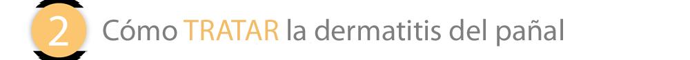 Cómo tratar la dermatitis del pañal