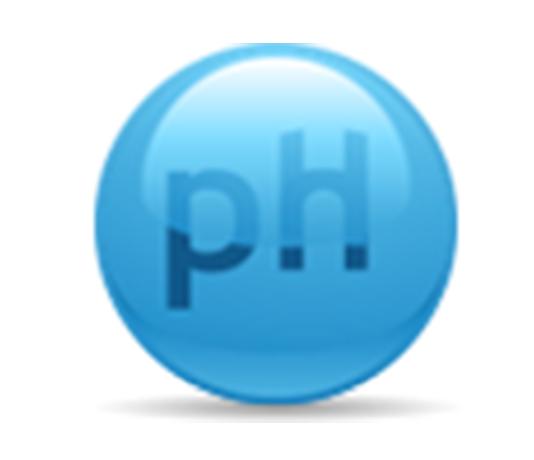 ícono de pH