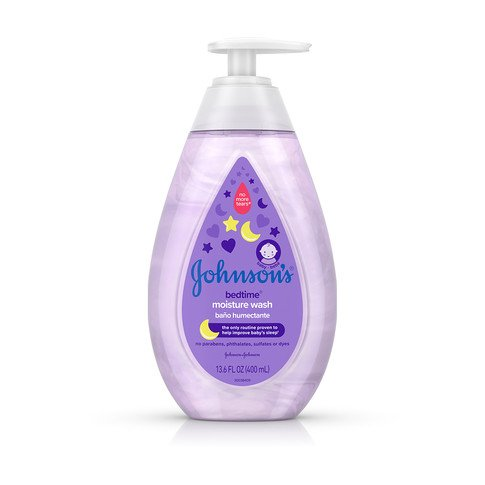 Jabón líquido humectante para bebé JOHNSON'S® BEDTIME®, imagen frontal