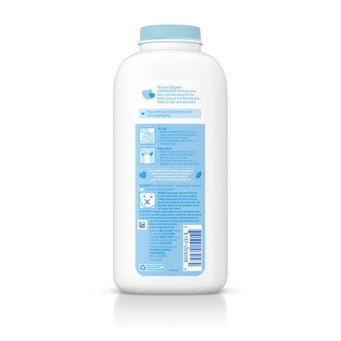 Ingredientes del talco para bebé JOHNSON'S® con aloe y vitamina E