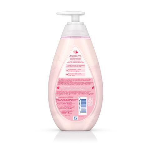 Ingredientes del jabón líquido humectante para bebé JOHNSON'S®