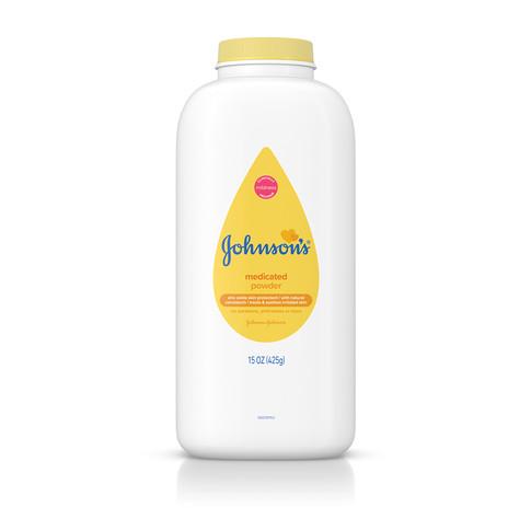 Talco medicinal para bebé JOHNSON'S®, imagen frontal