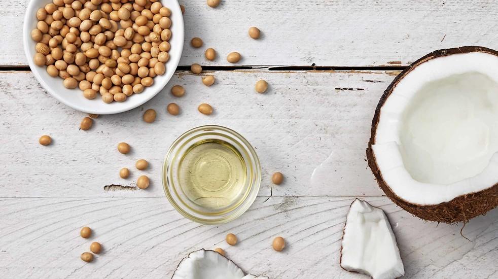 ingrediente a base de aceite de coco