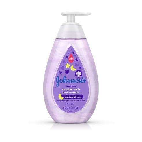 Frasco de jabón líquido humectante Johnson's® Bedtime®