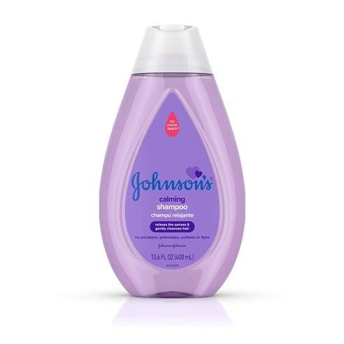 Frasco de champú relajante Johnson's®