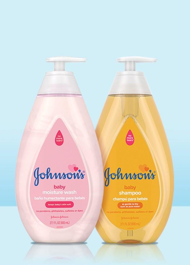 Colección de productos para niños Johnson's® Classics