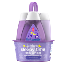 Set de regalo para bebé JOHNSON'S® Sleepy Time, imagen frontal