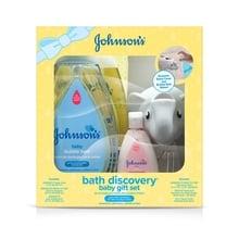 Set de regalo para bebé JOHNSON'S® Bath Discovery, imagen frontal
