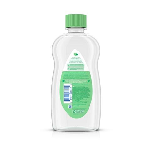 Ingredientes del aceite para bebé JOHNSON'S® con aloe y vitamina E