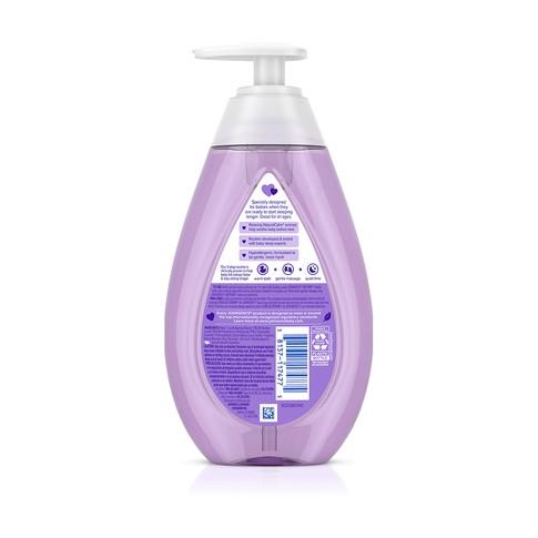 Ingredientes del baño de burbujas para bebé JOHNSON'S® BEDTIME®
