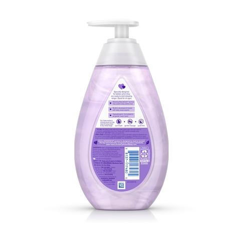 Ingredientes del jabón líquido humectante para bebé JOHNSON'S® BEDTIME®