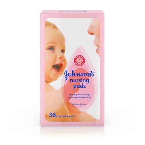 Protectores para lactancia JOHNSON'S®, imagen frontal