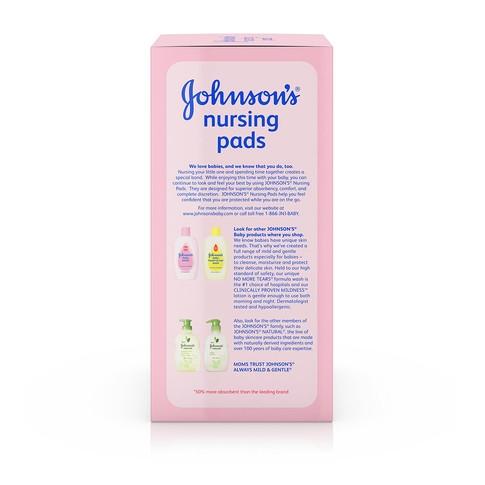 Ingredientes de los los protectores para lactancia JOHNSON'S®