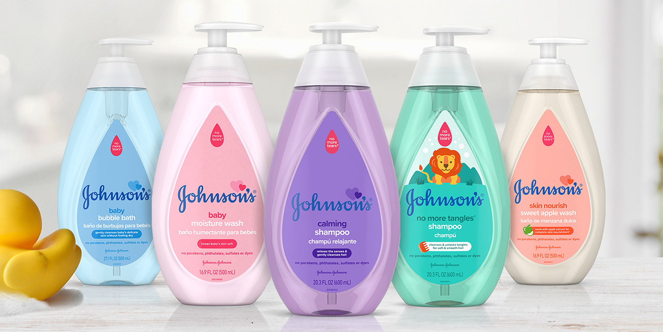 Línea de productos Johnson's® para bebé