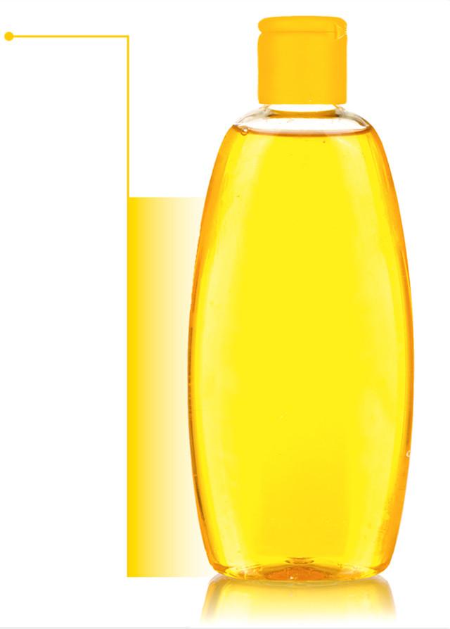 botella de producto para bebé con flecha hacia la izquierda