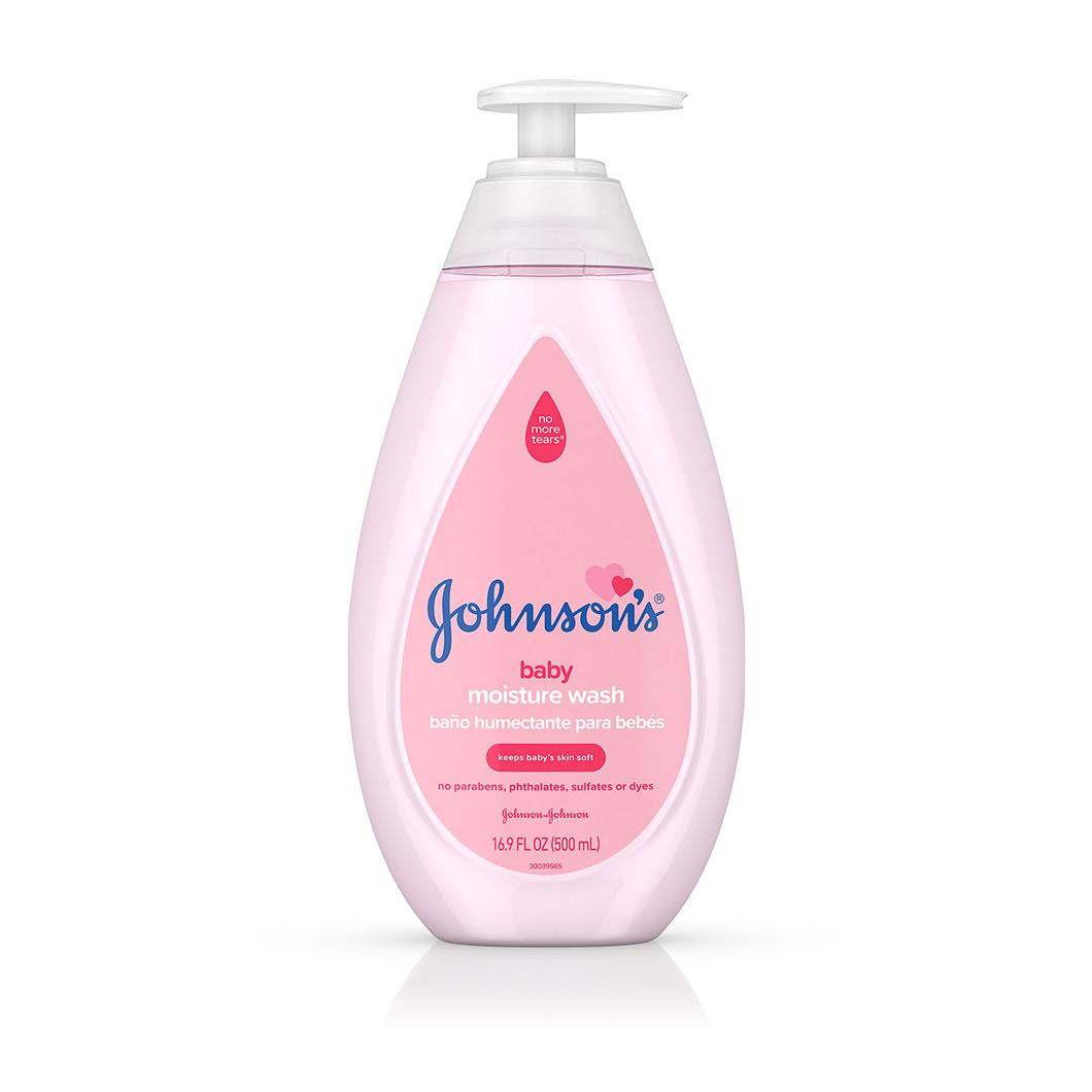 Frasco de jabón líquido humectante para bebé Johnson's®