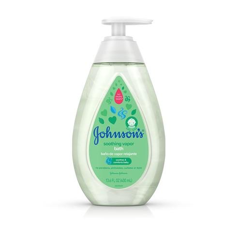 Frasco de baño de vapor relajante Johnson's®