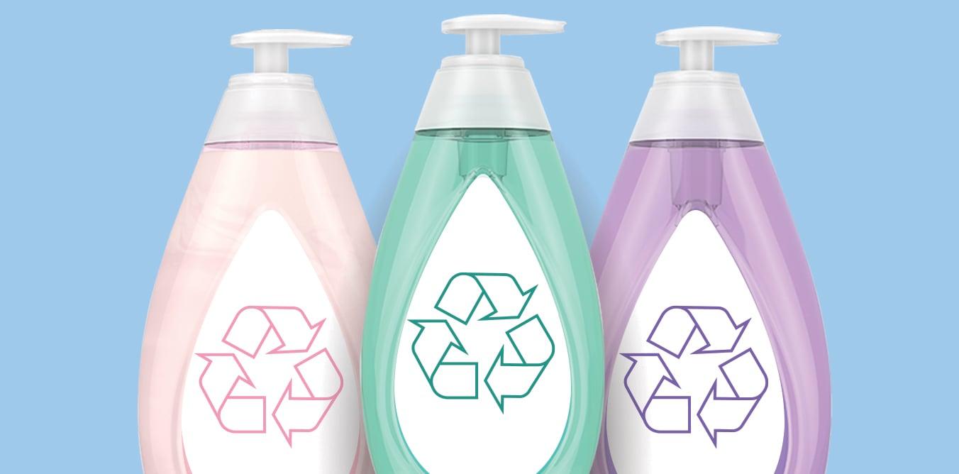 Reciclaje de frascos